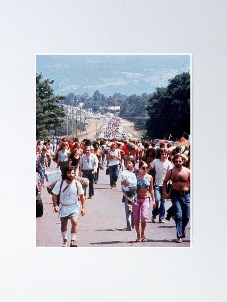 Alternate view of road to woodstock Poster