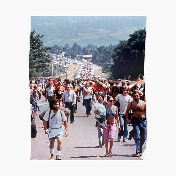 road to woodstock Poster