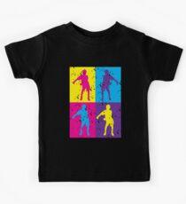 Floss Dance Retro Pop Art | Like a Boss Dance Flossing Kids Tee