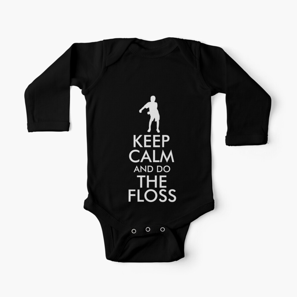 Baby Girls Childrens Keep Calm and Dance On Printed Long Sleeve 100/% Cotton Infants Tee Shirt
