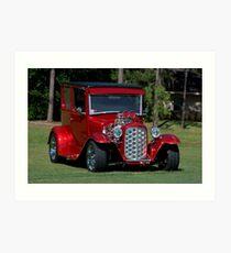 1927 Model T Sedan Hot Rod Art Print