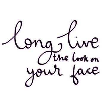 """""""Larga vida a la mirada en tu cara"""" de ellalucy"""