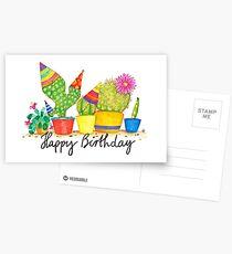 Kaktus Geburtstag Postkarten