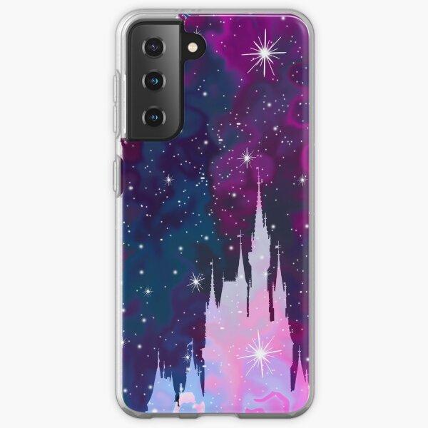 Magic Castle Silhouette Space Samsung Galaxy Soft Case