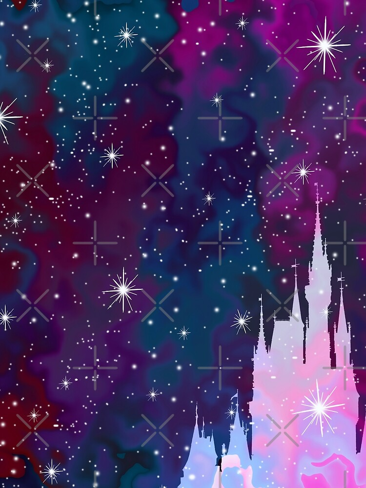 Magic Castle Silhouette Space by FandomTrading