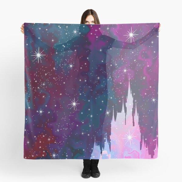 Magic Castle Silhouette Space Scarf