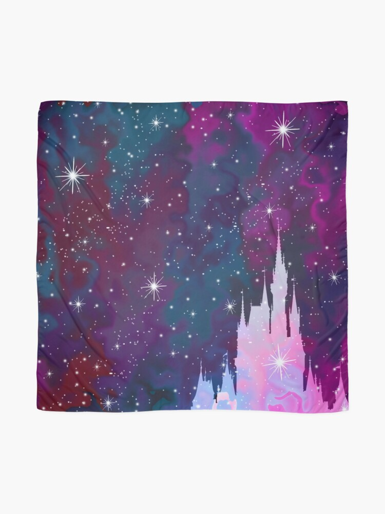 Alternate view of Magic Castle Silhouette Space Scarf