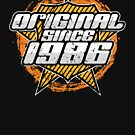 1986 Retro birthday by S-p-a-c-e
