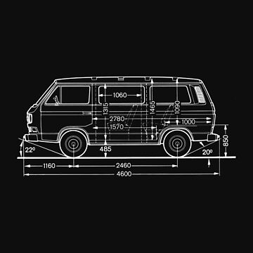 VW T3 Bus lightblack von 66latitudenorth