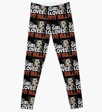 This Girl Loves Her Pit Bull T-Shirt Leggings
