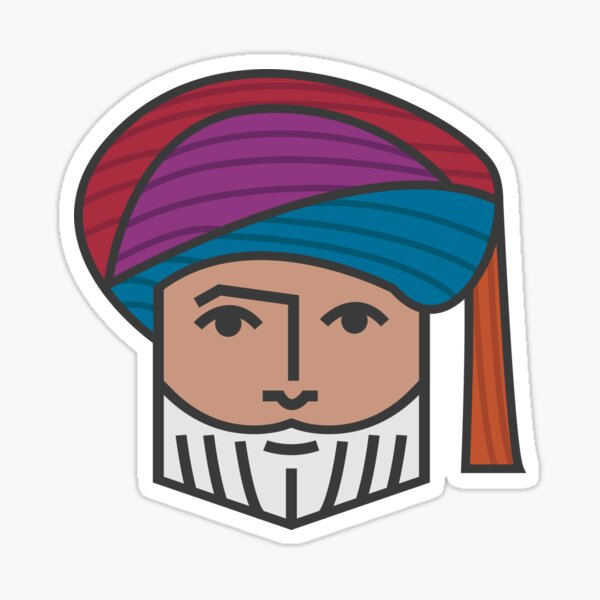 Sultan Qaboos V3 Sticker