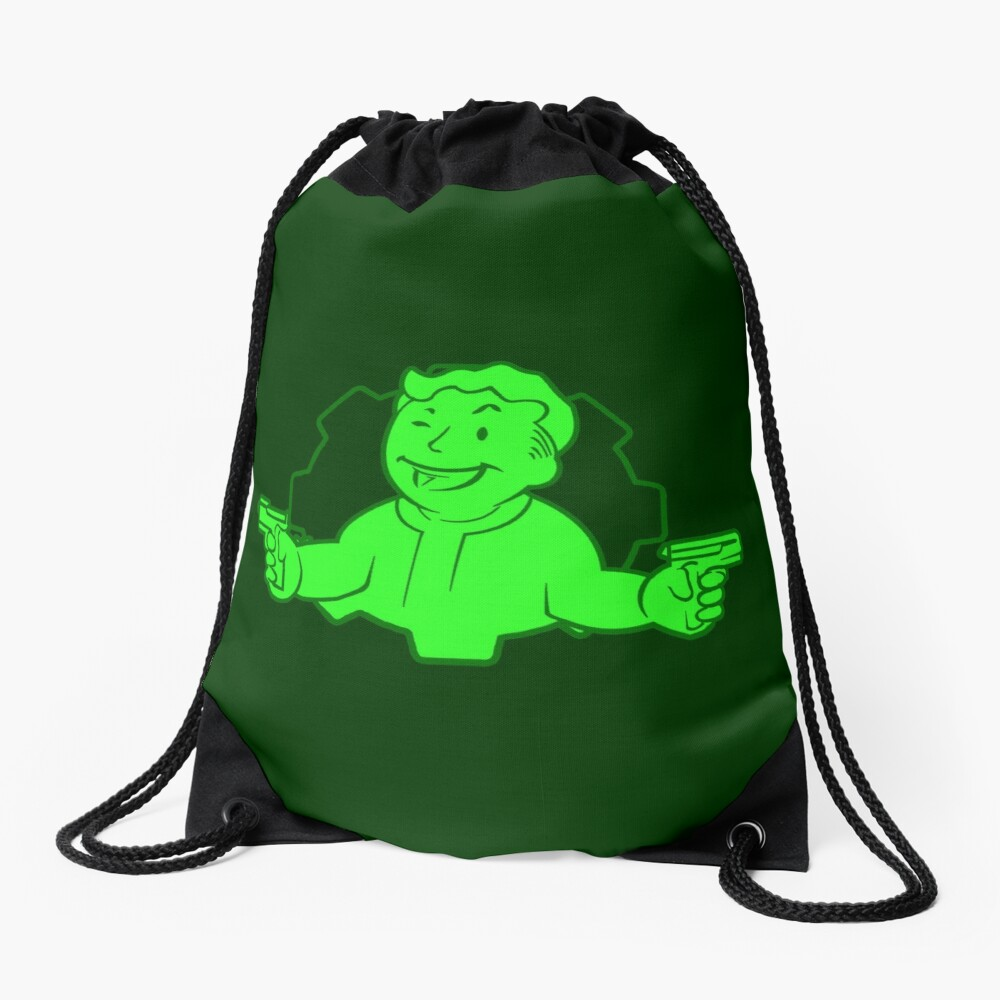 Critical Hit Drawstring Bag