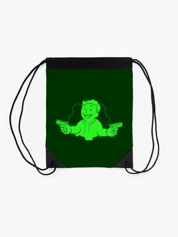 Alternate view of Critical Hit Drawstring Bag