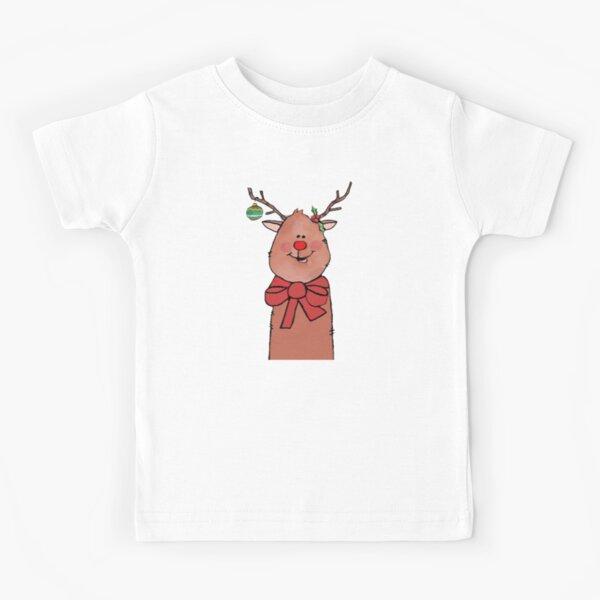 Oh! Deer!  Christmas Reindeer Kids T-Shirt