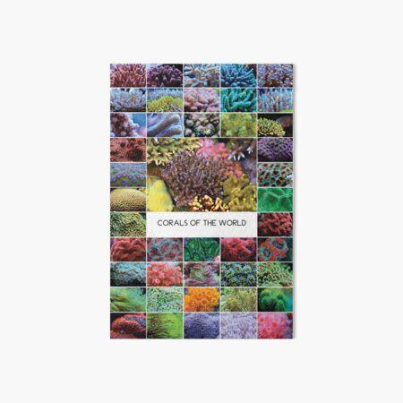 Corals Of The World  Art Board Print