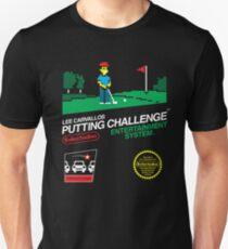 Lee Carvellos Putting Challenge Unisex T-Shirt