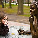 Thinking girls by LudaNayvelt
