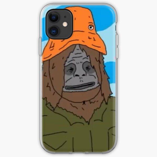 Sassy The Sasquatch iPhone Soft Case