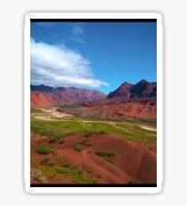 a wonderful Argentina landscape Sticker