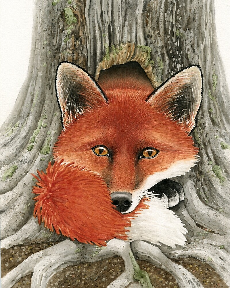 Fox Hole by Tracy Lizotte