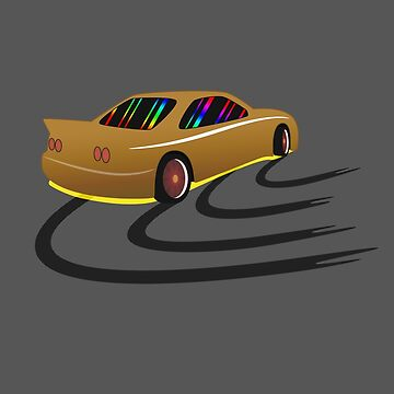 R33 in Drift Tuned Color — Gold Yellow by GiorgioN