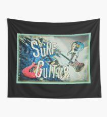 SURF GUITAR Wall Tapestry