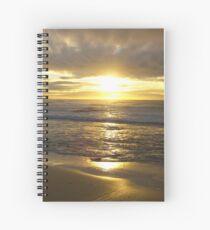 Sunraise At Nobby's Beach Spiral Notebook