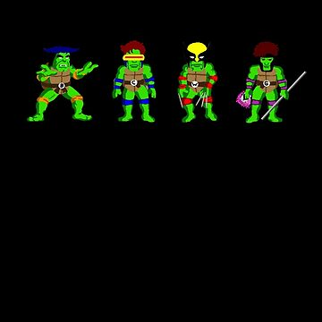 Mutant Teenage Ninja Turtles von MrTWilson