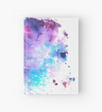 Purple and Blue abstract Cuaderno de tapa dura