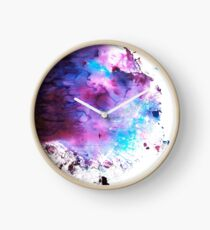 Purple and Blue abstract Reloj