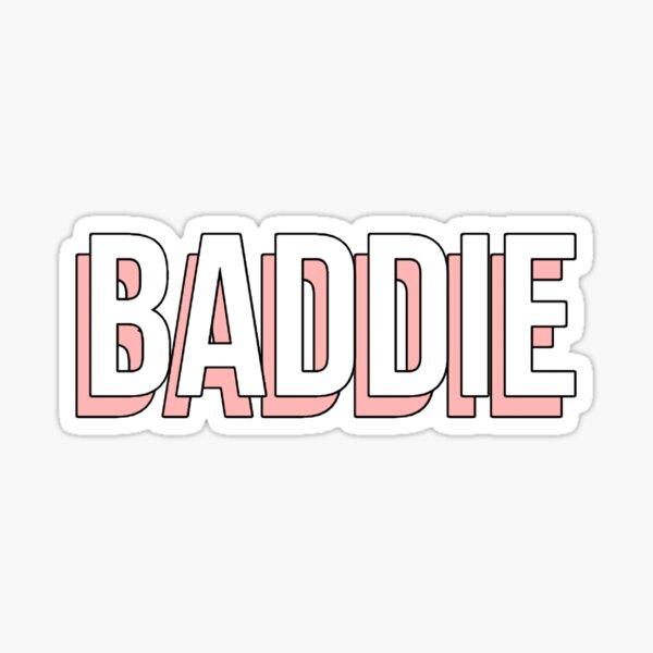 Baddie Stickers Redbubble