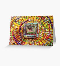 Colorful Craft Patterns  Greeting Card