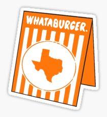 whataburger tx Sticker
