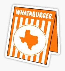 whataburger tx Sticker