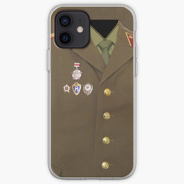 Phone Cases, Soviet army iPhone Soft Case