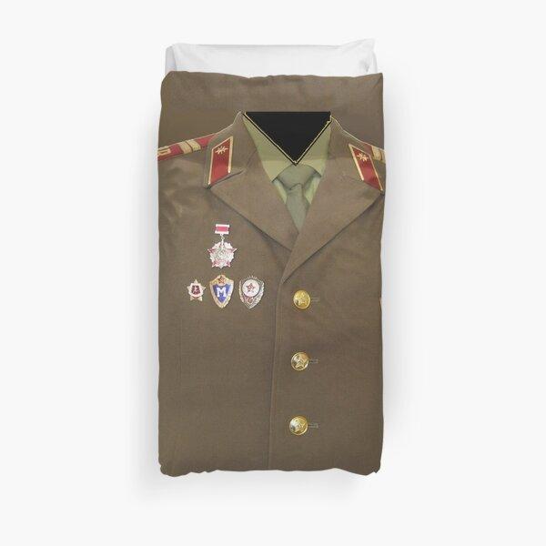 Soviet army Duvet Cover