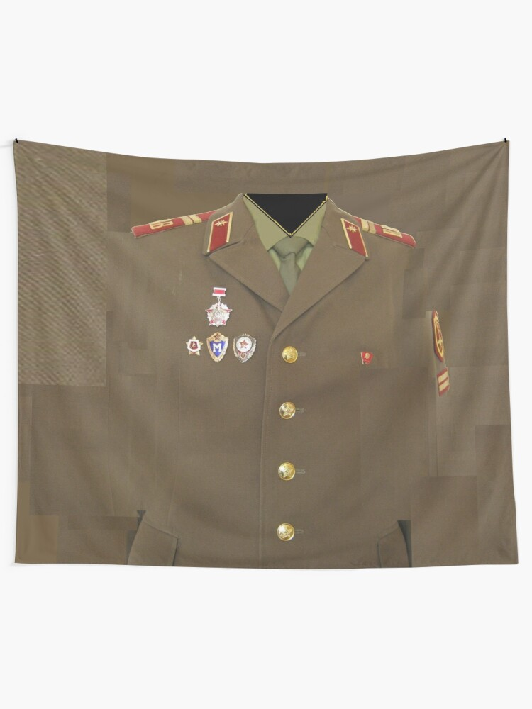 Alternate view of Soviet army Tapestry
