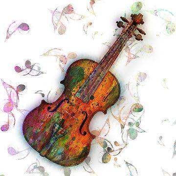 violin by motiashkar