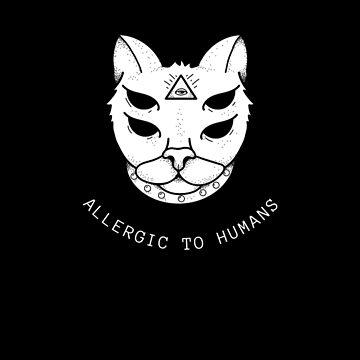 Cat alien ufo 3rd eye by jama777