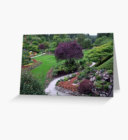 Sunken Garden(5) Greeting Card