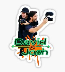 David & Josh  Sticker