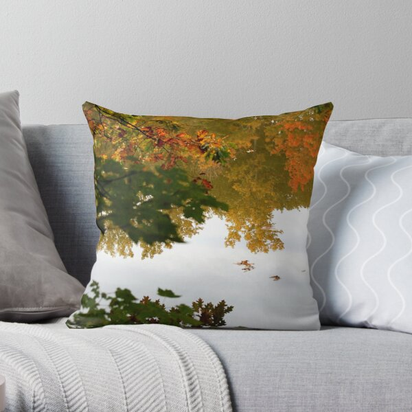 Double Feature Throw Pillow