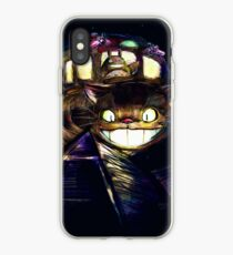 Cat Bus and Totoro are in Your Town iPhone Case