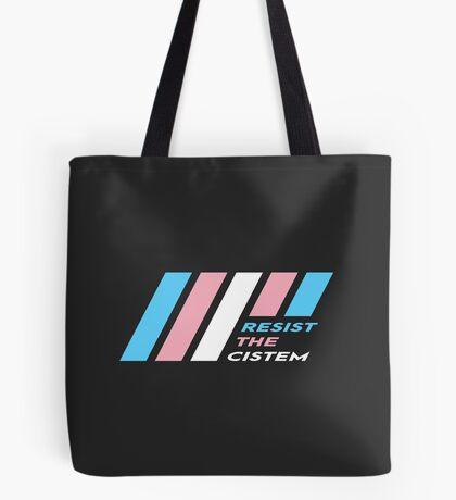 Pride Stripe: Resist The Cistem Tote Bag