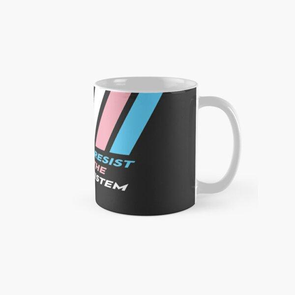 Pride Stripe: Resist The Cistem Classic Mug