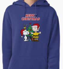 Snoopy Merry Christmas Pullover Hoodie