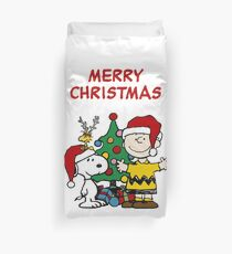 Snoopy Merry Christmas Duvet Cover