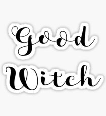 Good Witch Sticker