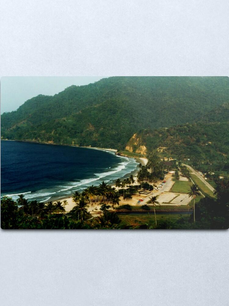 Alternate view of Maracas Bay Metal Print