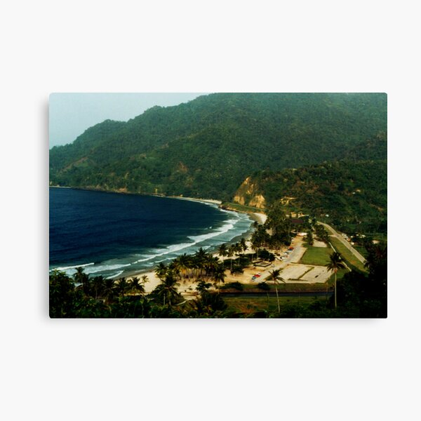 Maracas Bay Canvas Print